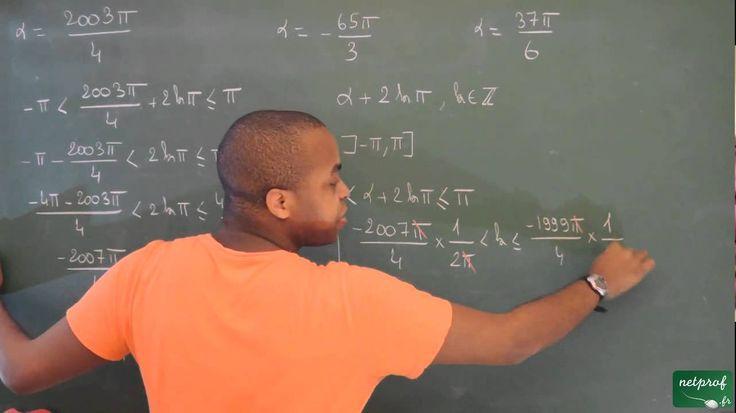 108 / Angles orientés - Trigonométrie / Déterminer la mesure principale ...