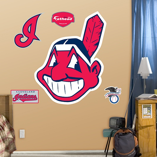 Cleveland Indians Chief Wahoo Fathead