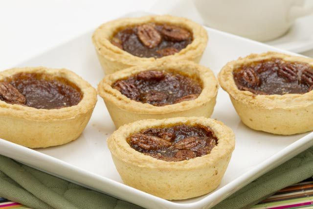 Here is a recipe for mini tart shells a.k.a. mini tart crusts.