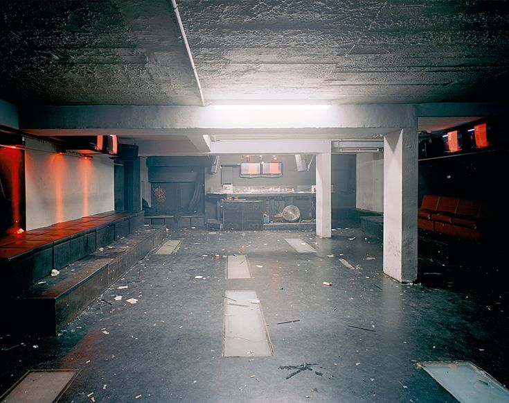 Andre Giesemann captures images of clubs after the party ends and real life takes over.