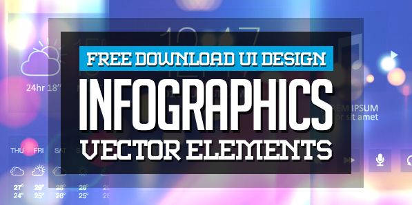 #Free #Infographic #Vector Graphics #Design Elements |