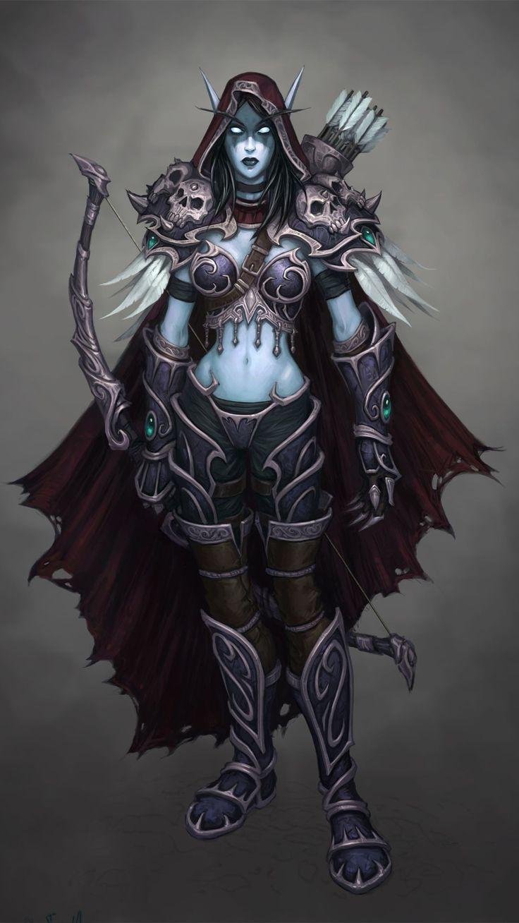Sylvanas world of warcraft hmv 10