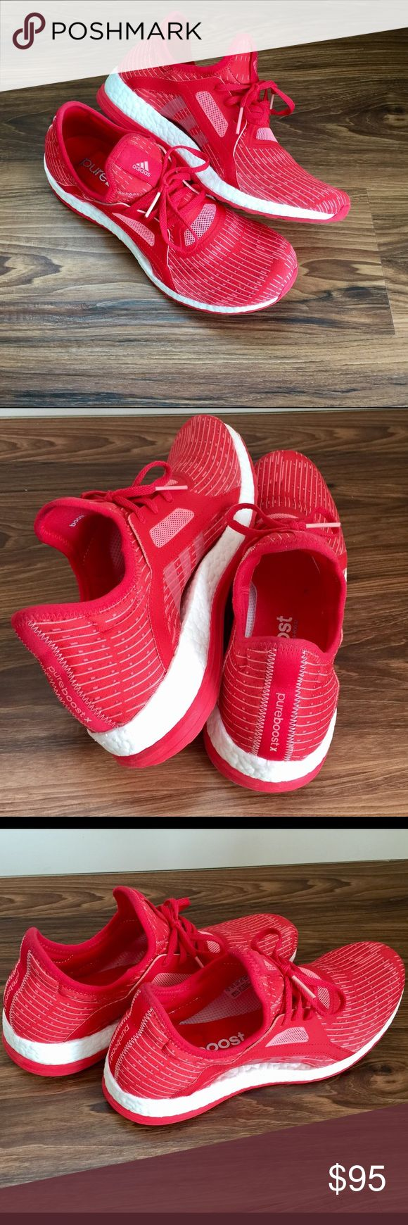 SOLD Adidas Pure Boost shoes Adidas Pure Boost shoes, size US 10. Women's. Only been worn once, super comfortable light and airy shoes. No box. Adidas Shoes Athletic Shoes