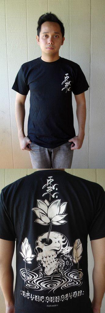 Upper Playground : Usugrow - Reincarnation T-shirt (Black)