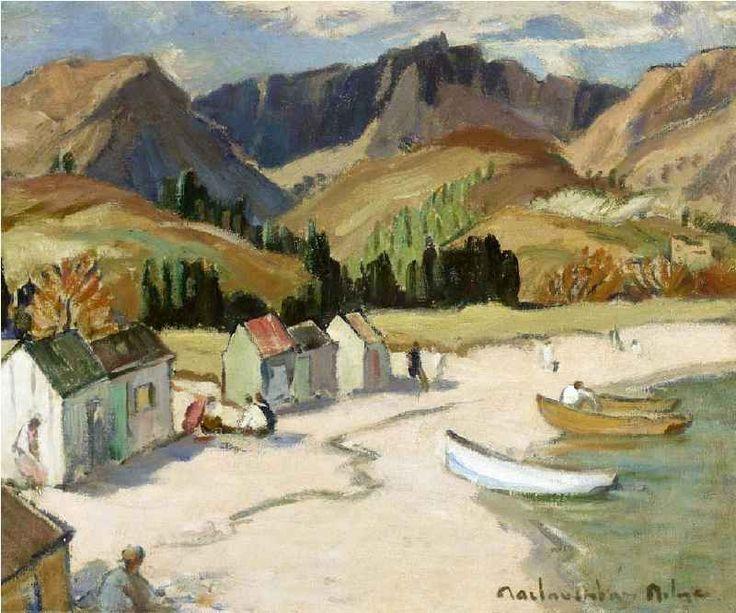 John Maclauchlan Milne | Beached Boats, Brodick Bay, Arran