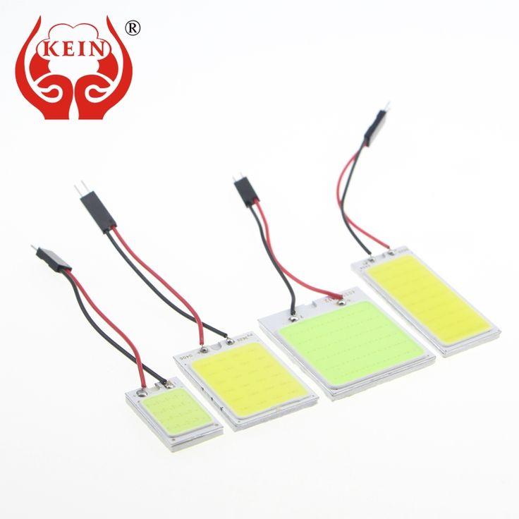 KEIN 1PCS Auto led T10 W5W C3W C5W C10W BA9S COB Reading/map/indicator/Interior lights festoon led Vehicle Lamp Bulb Lights 12V