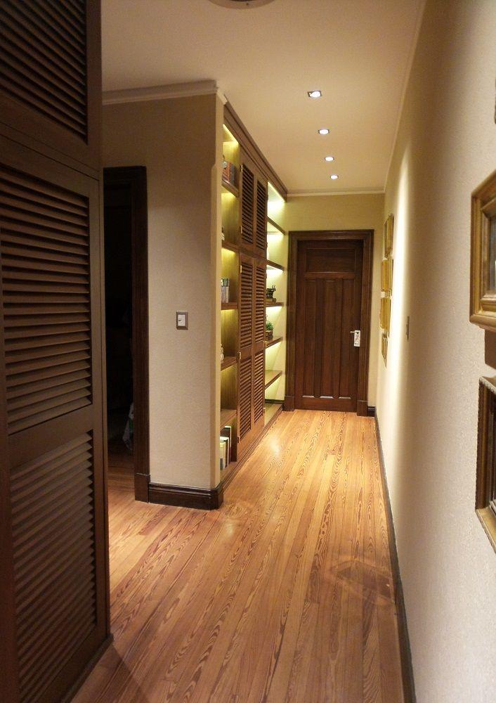 Dise o de mueble en pasillo distribuidor de ambientes for Mueble pasillo estrecho