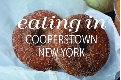 Eating In: Cooperstown, New York