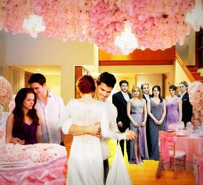 Jacob and renesmee wedding