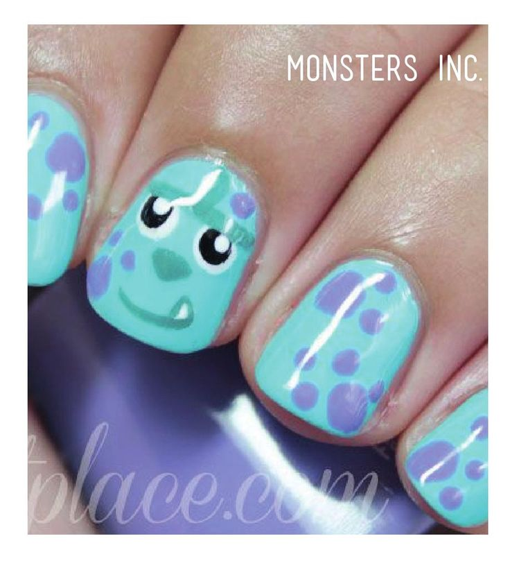 ISSUU - Disney nail art brochure by Du Nord