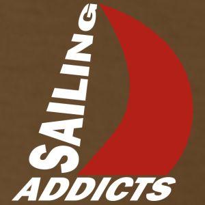 Gildan black logo Sailing Addicts TM