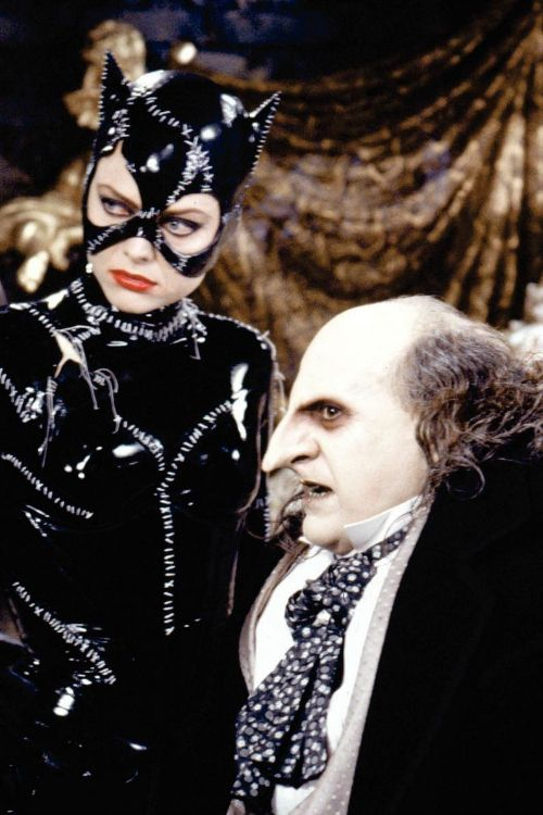 Batman: What do you want? The Penguin: Ah, the direct approach. I admire that in a man with a mask. (Batman Returns)