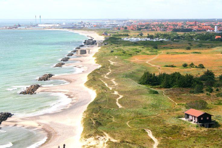 Jutland Denmark -Look at that beautiful beach!