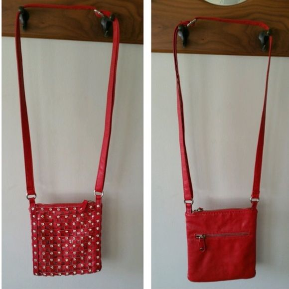 Red✨Bling✨Purse Red Bling Bag, 8.5 deep, 7inchs wide. Super clean - like new Bags Shoulder Bags