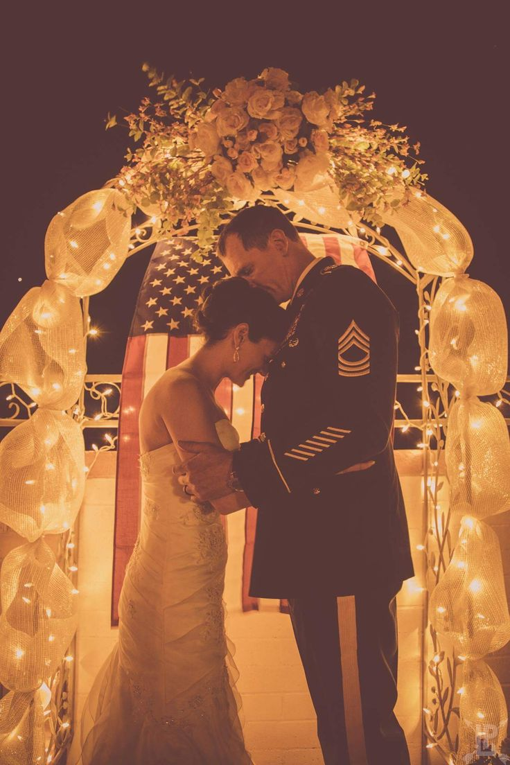 Such a beautiful memory- army wedding