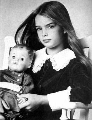 Another cute picture of Brooke Shields
