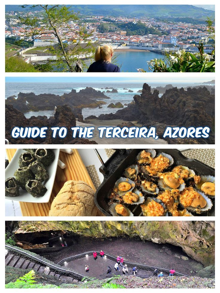 Terceira is awash in colorful, historical architecture, lush landscapes containing towering volcanoes and winding caves, and impressive sea views. http://luggageandlipstick.com/terceira-azores/