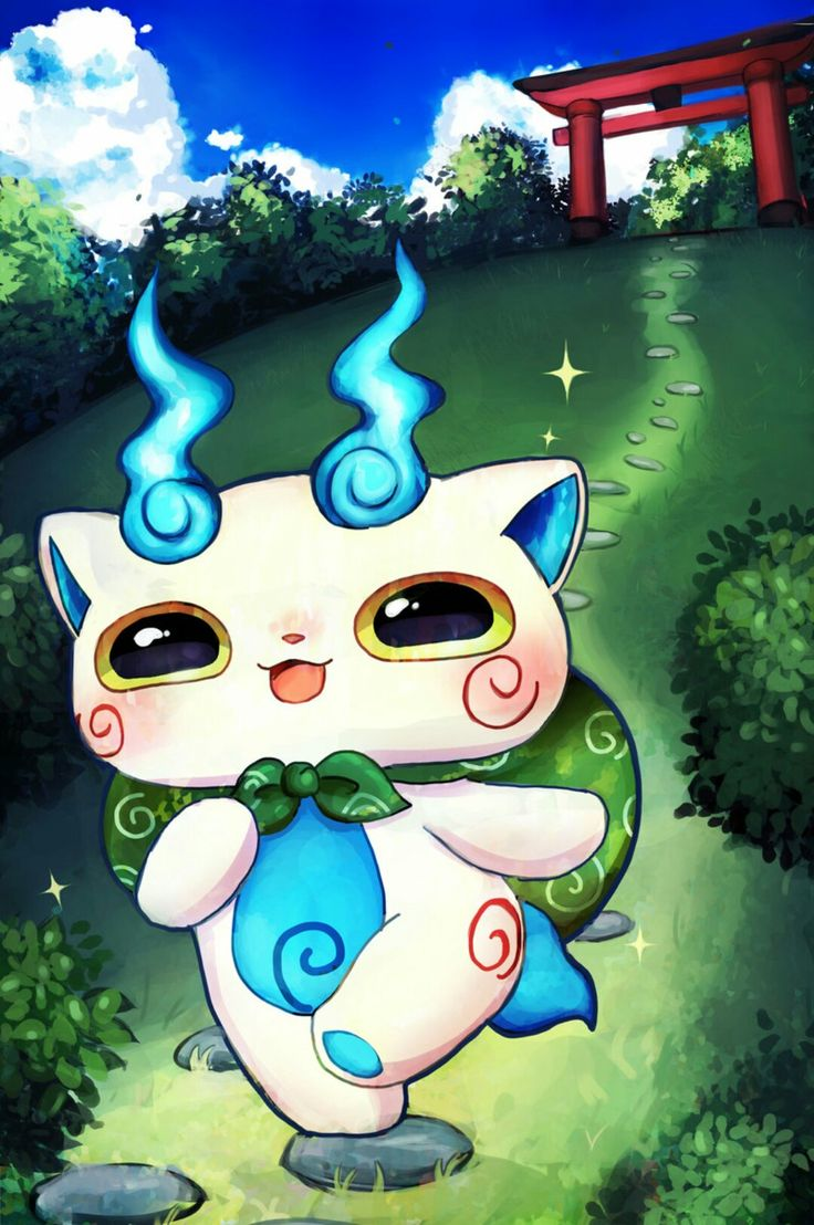 Komasan (With images) | Anime, Youkai watch, Drawings