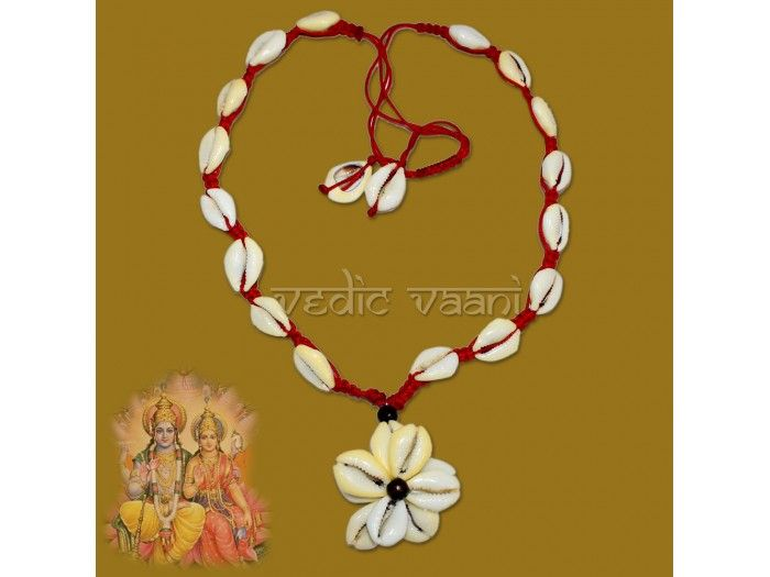Buy cowry shells mala online from India to worldwide at fair rates. Cowry shells are originally found in the islands of the Indian ocean and are considered very auspicious