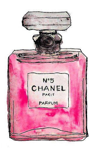 Chanel No 5 - Um clássico para a parede!