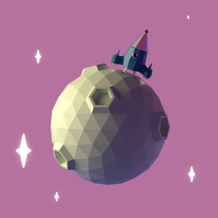 Lowpoly One on Behance
