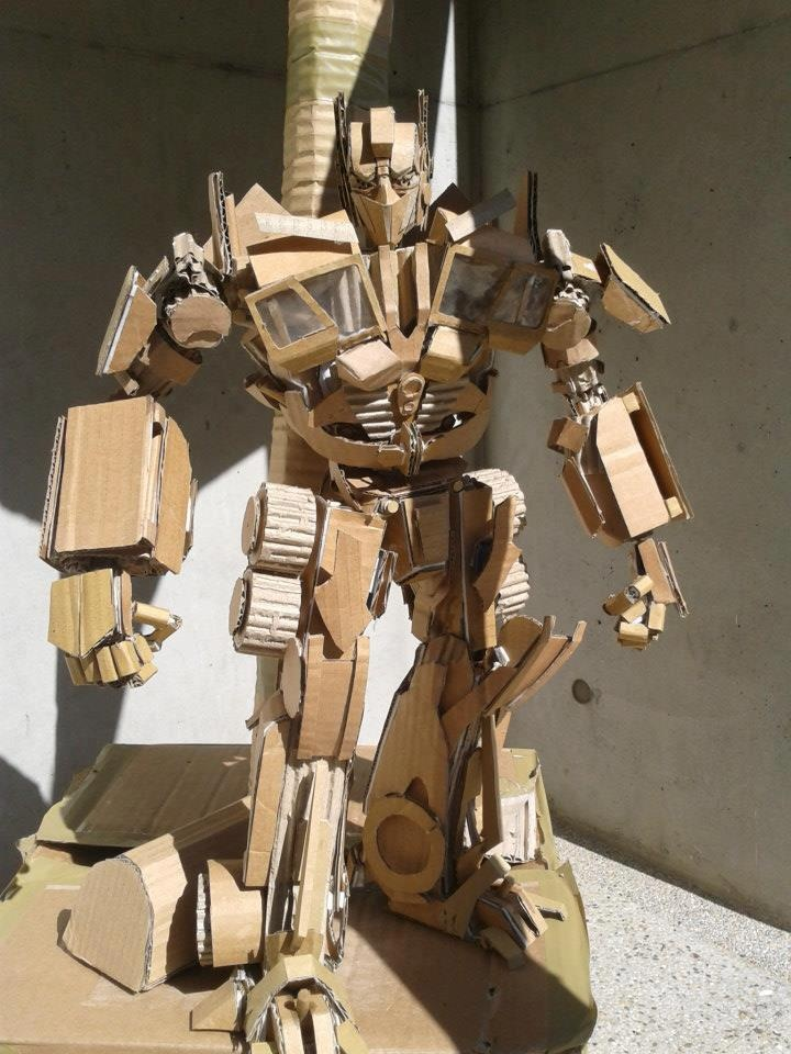Gut bekannt 90 best cardboard sculpture images on Pinterest | Cardboard  TW45