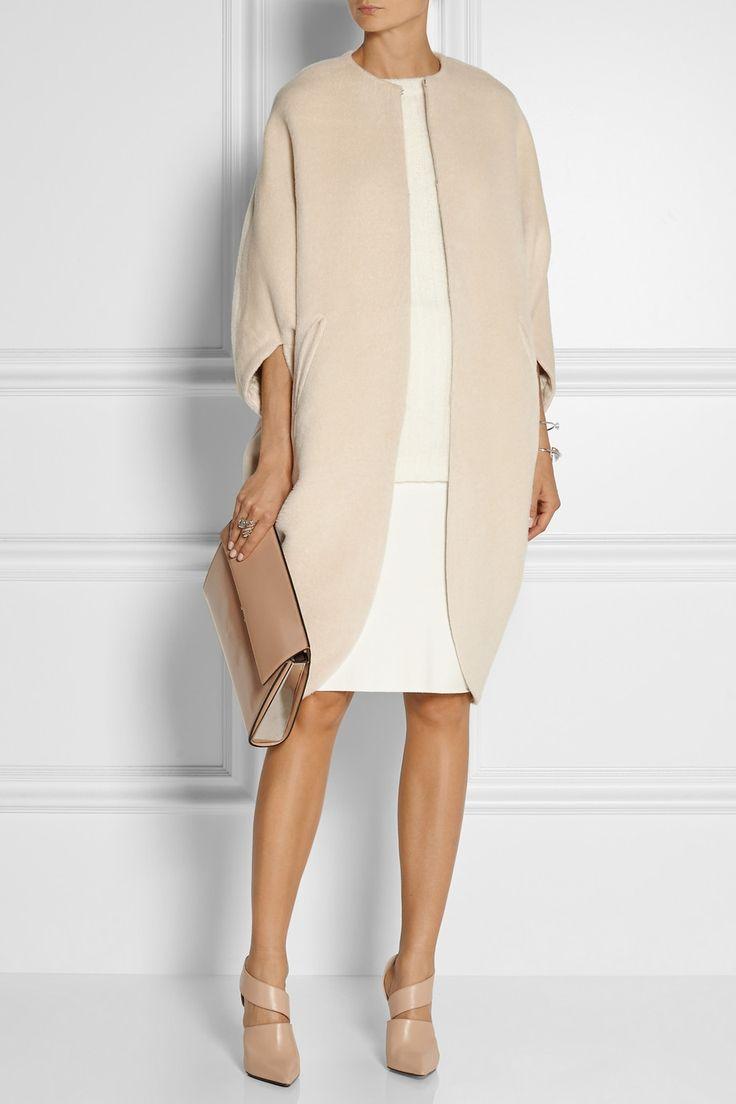 Zero+MariaCornejo | Koya alpaca and wool-blend cape | NET-A-PORTER.COM