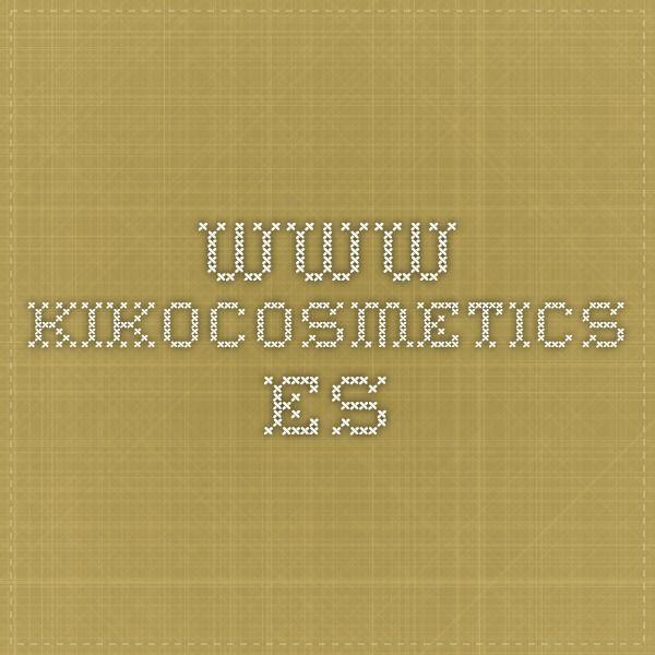 www.kikocosmetics.es