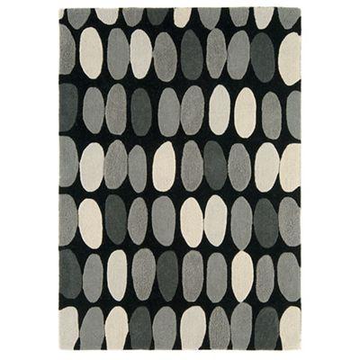 Debenhams Grey wool 'Sofia' rug- | Debenhams