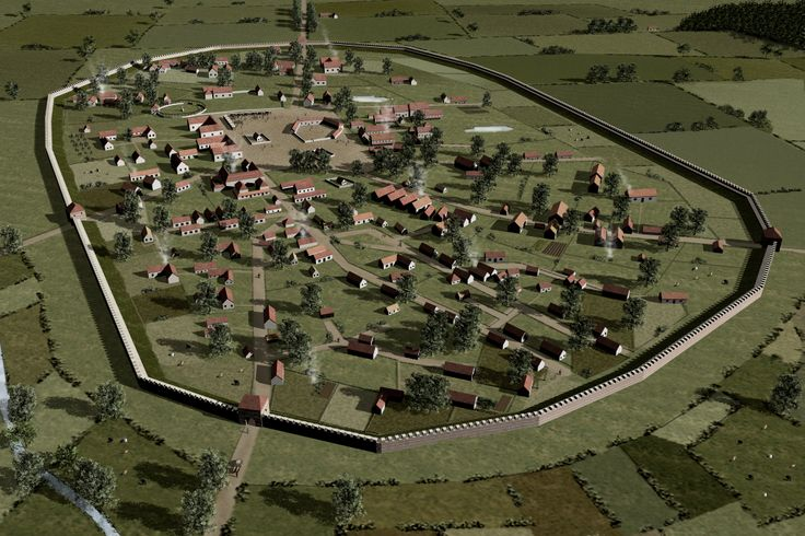 Great Chesterford Essex as was in the Roman times.
