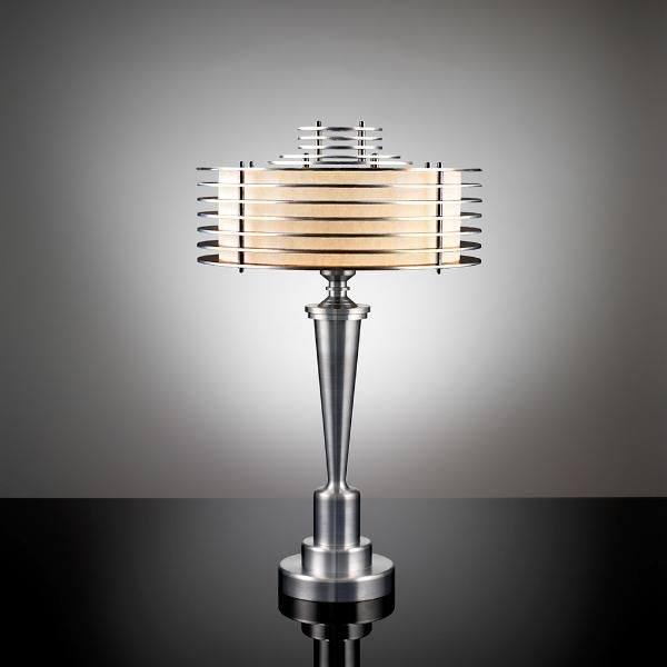 One of Walter von Nessen's Art Deco Machine Age table lamps. - See more at: http://globallightingblog.com/trailblazing-industrial-designer-walter-von-nessen/#sthash.3wpupUeD.dpuf