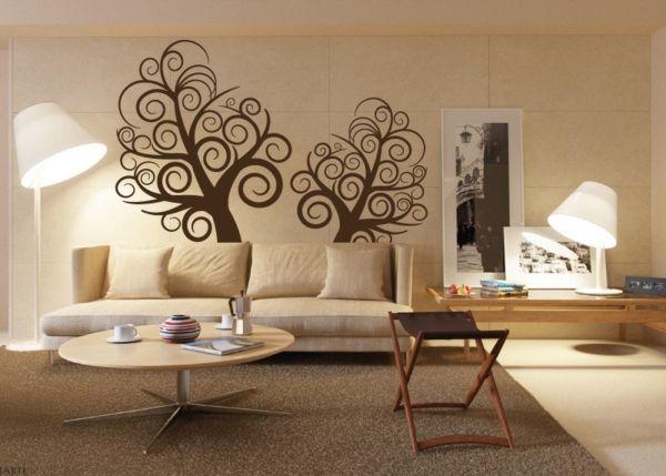 Best Wanddeko Ideen durch welche man einen tollen Effekt im Raum erschafft