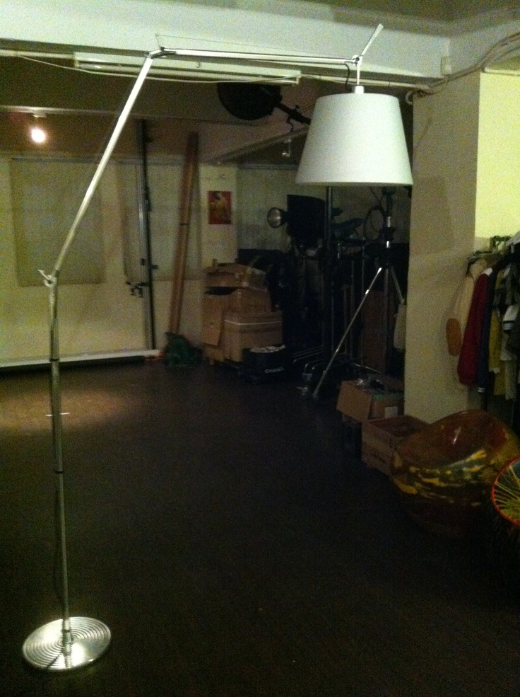 i just got this tolomeo maga floor lamp today (artemide). it's only 1 1/2 years old. paid us $256