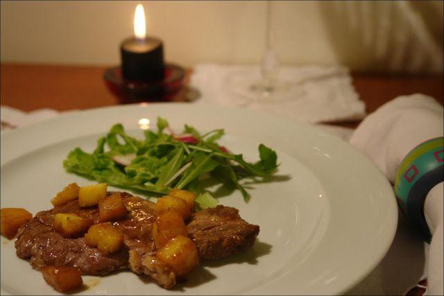 Hoje para jantar ...: Costeletas com Abacaxi