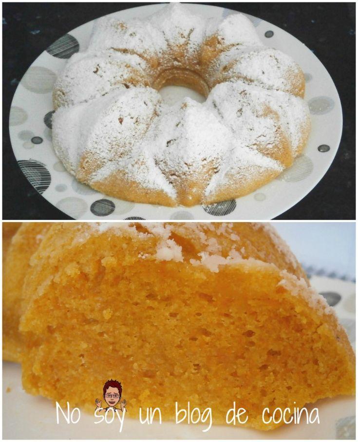 No soy un blog de cocina: BIZCOCHO DE CALABAZA (en microondas)