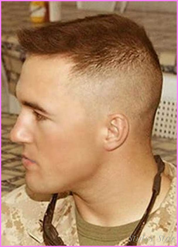 cool Medium fade haircut military