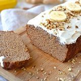 Ginger Spiced Banana Bread!! A wintery spin on my favourite naturally sweetened Banana Bread that's perfect for holiday baking. It's packed with warm cinnamon, clove, ginger and nutmeg spices and topped with a #dairyfree icing. Link to the recipe in my stories . . . . . . . . . #grainfree #glutenfree #dairyfree #paleo #specificcarbohydratediet #dinner #whole30 #refinedsugarfree #healthy #healthyfood #health #lowcarb #keto #primal #realfood #eatclean #wholefood #lowcal #diet #fit #nutrition…