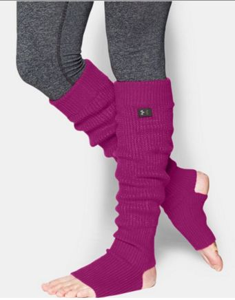Under Armour Women's Leg Warmers. Cold weather, warm legs. Cozy and snug. They're the perfect piece to complete your studio look. An ideal stocking stuffer for this holiday season.