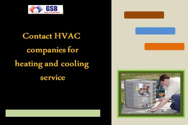 Contact Hvac Companies For Heating And Cooling Service Heating