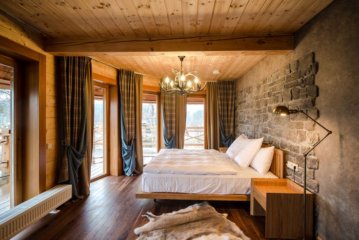 furnishings with fur - country house style (einrichten mit fell, Innedesign