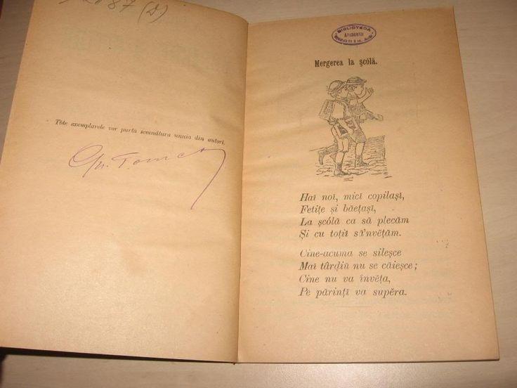 Carte veche - ABECEDAR - PARTEA I- II - 1900 - Okazii (127545507)