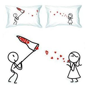 1000 ideas about couple pillowcase on pinterest pillows for Bedroom gifts for her