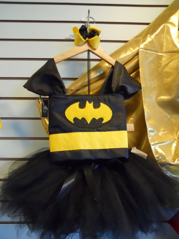 LAST WEEK TO ORDER!!  Batman Tutu Costume Last Day to Order is Oct 19th by SECBoutique, $75.00