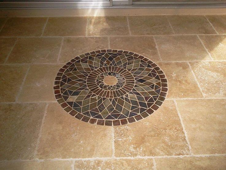 flooring cool tile floor designs patterns beige ceramics floor tile with unique round floral pattern