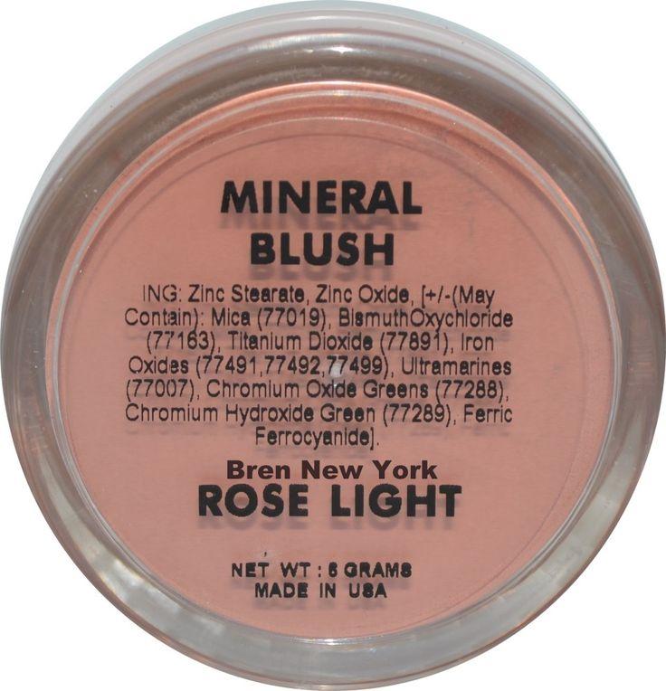 Rose Light Mineral Blush Shade