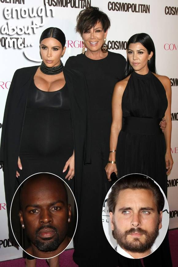 Kim Kardashian Speaks On Kris Jenner's BF Corey Gamble AND Kourtney Kardashian & Scott Disick's Breakup - You'll Want To Read This!