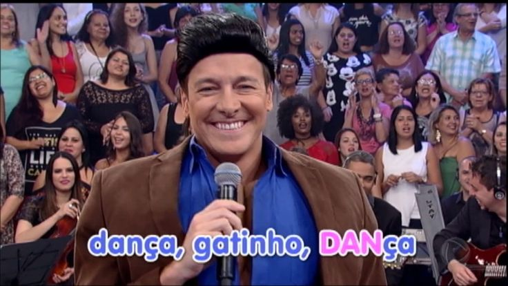 Dança Gatinho: Rodrigo Faro e fã de Leonardo apresentam Cabaré Night Club