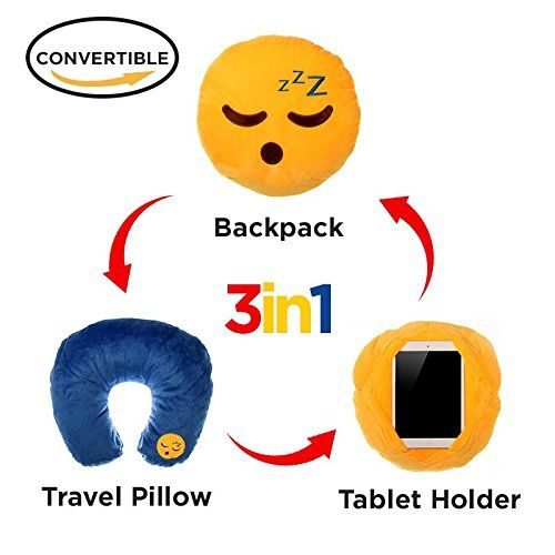 3 in 1 Sleeping Emoji Pillow iPad Holder Backpack Travel ... https://www.amazon.com/dp/B01MD1L6ME/ref=cm_sw_r_pi_dp_x_LP3IybE062PKN