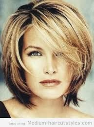mid length hair styles for women over 50 - Google Search