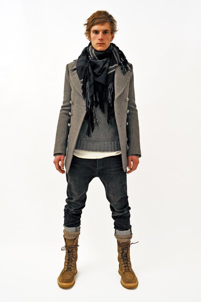 Balmain Fall 2011 menswear